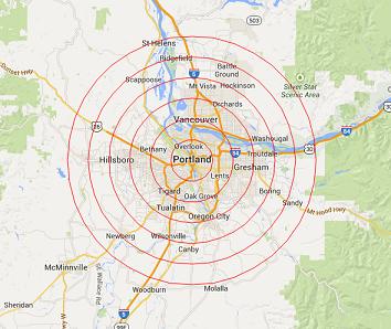 locksmith-portland-map