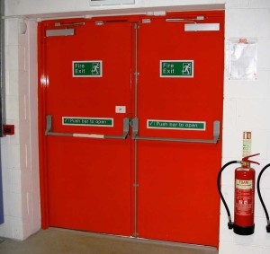 Locksmith Portland emergency exit door